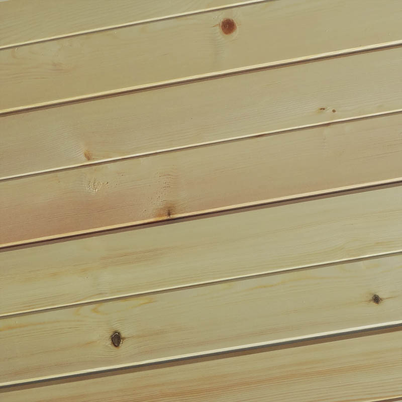 standard wood cladding